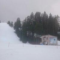 "Photo taken at Slēpošanas kalns ""Mežezers"" by Sarmīte P. on 1/31/2016"