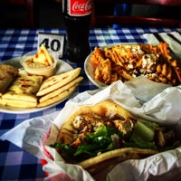 Photo taken at Nikos Gyros by Andrew L. on 7/26/2016
