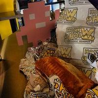 Photo taken at Which Wich Superior Sandwiches by Pixeljam G. on 10/3/2013