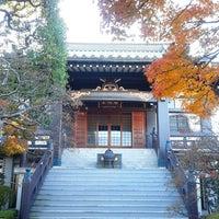 Photo taken at 瀧河山松橋院 金剛寺 by 柏木 潤. on 12/15/2013