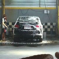 Photo taken at Chaba Car Wash by JuBJiB on 5/15/2013