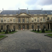 Photo taken at Archives Nationales by Brant S. on 12/10/2012