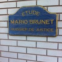 Photo taken at Etude Mario Brunet by Mario B. on 10/8/2013