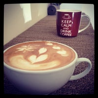 Photo taken at The Coffee Box by Georgiana s. on 10/5/2013