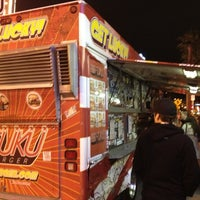 Photo taken at Fukuburger Truck by Jack Daniel J. on 2/9/2013