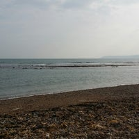 Photo taken at Ringstead Bay by Paul D. on 9/14/2014