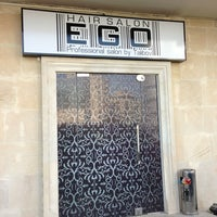 Photo taken at EGO Hair Salon by Ilkin H. on 6/10/2013