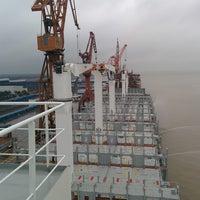 Photo taken at Shanghai Shipyard by Stelios K. on 1/14/2015