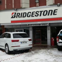 Photo taken at BRIDGESTONE - YAMAN OTO LASTİK by Çağhan Y. on 1/22/2016