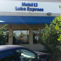 Photo taken at Mobil 1 Lube Express by Sammy G. on 3/1/2014