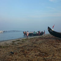 Photo taken at Maalipuram Beach by Johnny B. on 10/22/2014