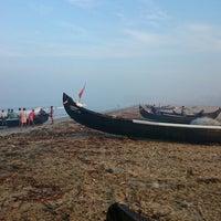 Photo taken at Maalipuram Beach by Johnny B. on 10/22/2014