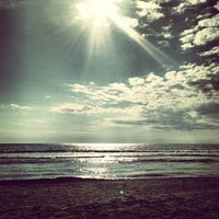 Photo taken at Lido Beach Spiaggia Libera Lido Di Camaiore by Sara B. on 4/7/2013