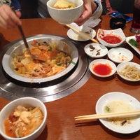 Photo taken at ハイカジ Korean Kitchen まだん お初天神店 by Shotaro Y. on 4/25/2014