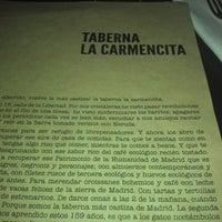 Foto scattata a La Carmencita da Mauricio F. il 7/1/2013