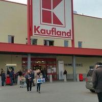 Photo taken at Kaufland by L R. on 2/27/2016