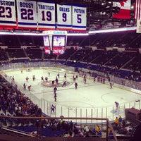 Photo taken at Nassau Veterans Memorial Coliseum by Greg N. on 2/24/2013