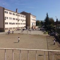 Photo taken at ticaret ve sanayi odası ortaokulu by Çağrı Çağatay Ö. on 9/26/2014