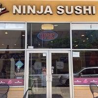 Photo taken at Ninja Sushi by やちゃん 9. on 6/6/2014