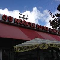 Foto scattata a OB Noodle House & Sake Bar da Choco il 12/27/2012