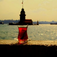 Photo taken at Maiden's Tower by Zeynep T. on 10/4/2013