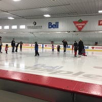 Photo taken at Bell Sensplex by Andy S. on 5/1/2017