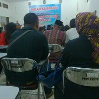 Photo taken at Kawasan Pusat Pemerintahan Provinsi Banten (KP3B) by Ecko H. on 12/6/2013