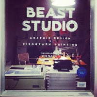 Photo taken at BEAST Studio by BEAST Studio on 1/1/2014