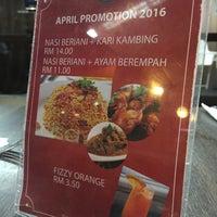 Photo taken at Restaurant Kelab Golf & Rekreasi PETRONAS by Syed Naufal A. on 4/10/2016