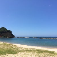 Photo taken at 久手海水浴場 by Kimurat59 on 7/26/2014