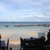 Photo taken at Seashell Resort Koh Tao by Francisca V. on 5/14/2014