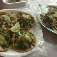 Photo taken at Tacos Los Primos by Refool S. on 11/22/2013