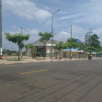 Photo taken at Ginásio de poliesportivo Manoel Silva by Neilson C. on 1/1/2014