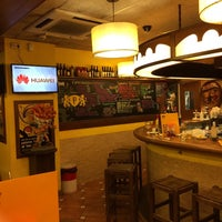 Photo taken at Frankburger Pedralbes by Елена К. on 1/7/2015
