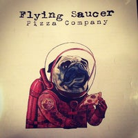 Photo taken at Flying Saucer Pizza Company by Kevin L. on 4/27/2013