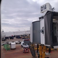 Photo taken at Gate D14 by Manco C. on 3/10/2013