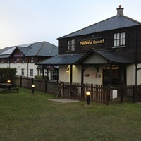 Photo taken at Brewers Fayre Penhale Round by Alex T. on 2/27/2013