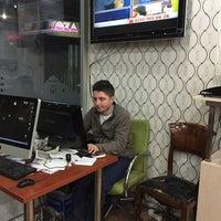 Photo taken at Vip Dijital Baski Merkezi by Türker G. on 4/30/2015