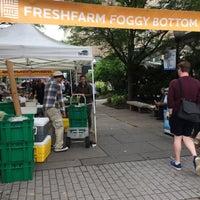 Photo taken at Foggy Bottom FRESHFARM Market by George J. on 5/24/2017