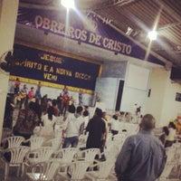 Photo taken at Igreja Obreiros De Cristo Sede by Rafinha T. on 10/13/2013