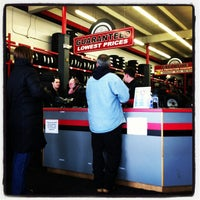Photo taken at Town Fair Tire by Erika H. on 12/31/2012