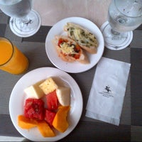 Photo taken at Lancaster Cafe @ Lancaster Hotel by Jhay D. on 8/29/2014