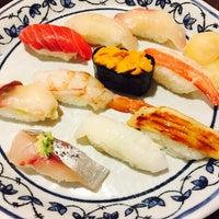 Photo taken at Sushi Sanrikumae by あうり on 5/23/2017