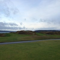 Photo taken at Chambers Bay Golf Course by Mike T. on 12/7/2012