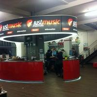 Photo taken at justmusic by Pinar P. on 10/19/2013