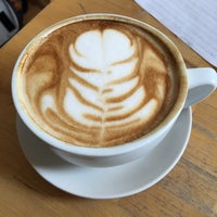 Photo taken at Waking Life Espresso by Maria A. on 6/9/2015