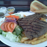 Photo taken at Champ's Hot Grill by Ivan J. on 4/19/2014