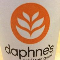Photo taken at Daphne's California Greek by Chris E. on 10/11/2013