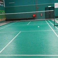 Photo taken at Penang Badminton Academy by CM Y. on 8/12/2016