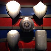 Photo taken at Captain America: The Living Legend and Symbol of Courage by Dakarai M. on 8/26/2014